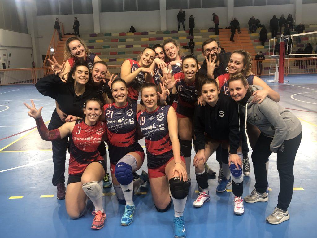 Tripletta: 3 - 0 Pallavolo Olgiate - Como Volley