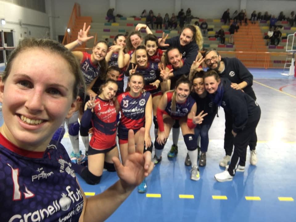 Pallavolo Olgiate - Brenna Briacom 3 - 0 Prima Divisione da sogno