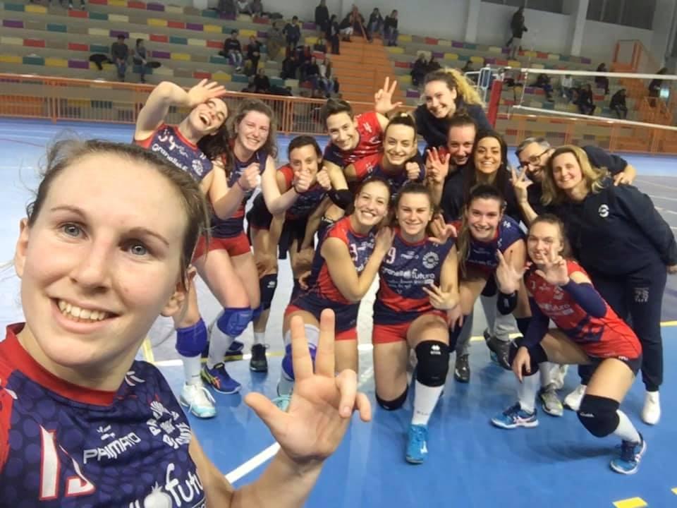 Olgiatine confermano il 5° posto vincendo 3 - 0 contro le atlete del Carimate